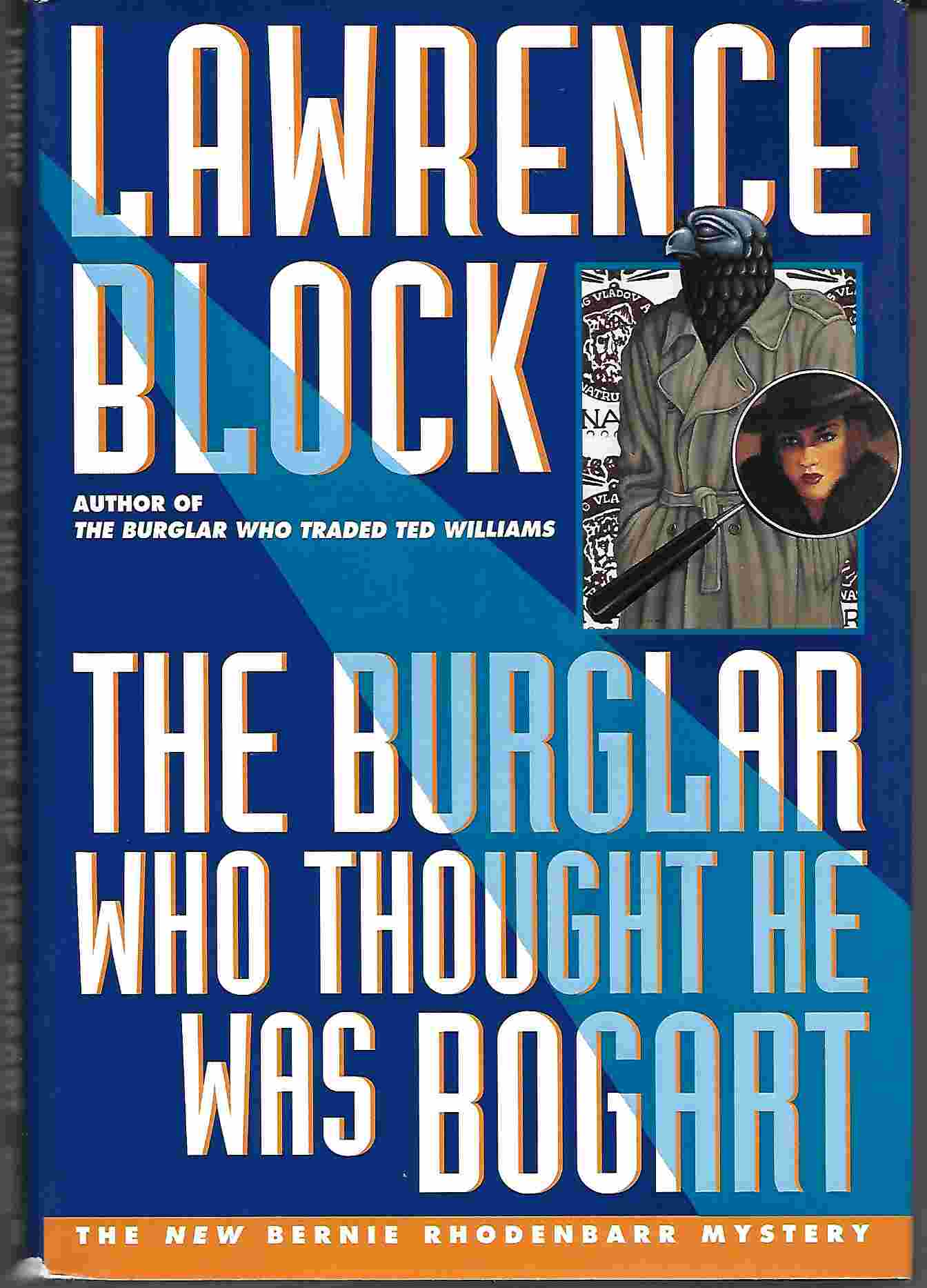 Image for THE BURGLAR WHO THOUGHT HE WAS BOGART