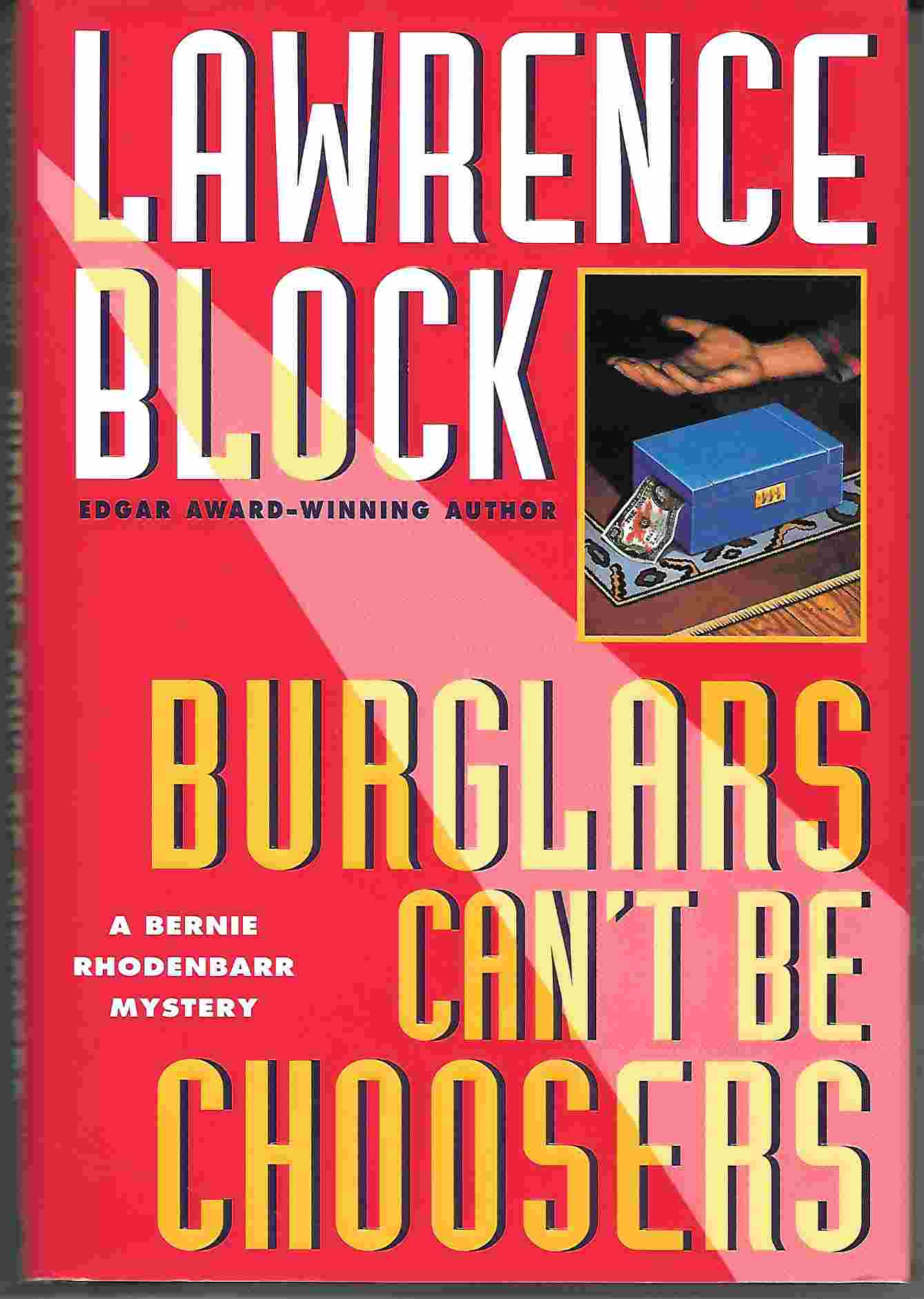 Image for BURGLARS CAN'T BE CHOOSERS