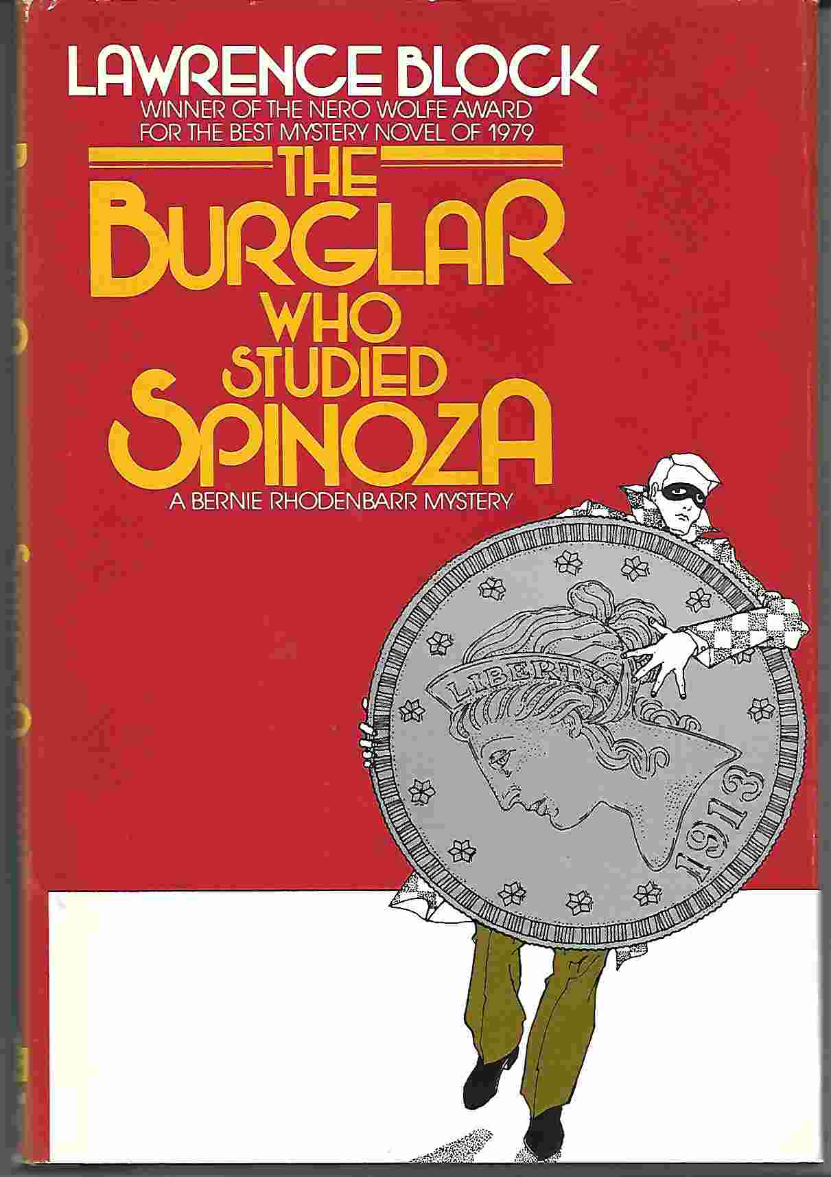 Image for THE BURGLAR WHO STUDIED SPINOZA :  A Bernie Rhodenbarr Mystery