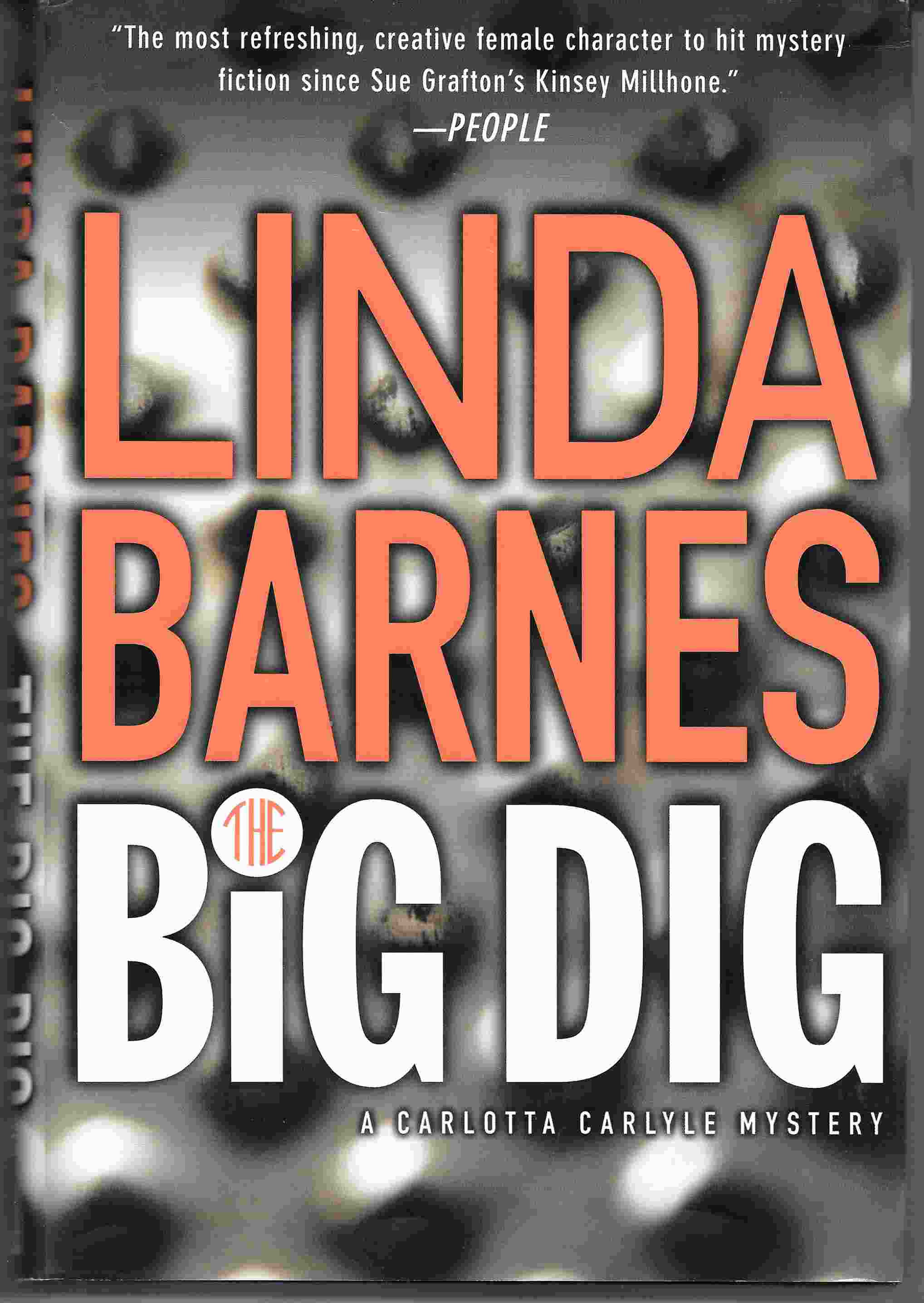 Image for THE BIG DIG:  A Carlotta Carlyle Mystery