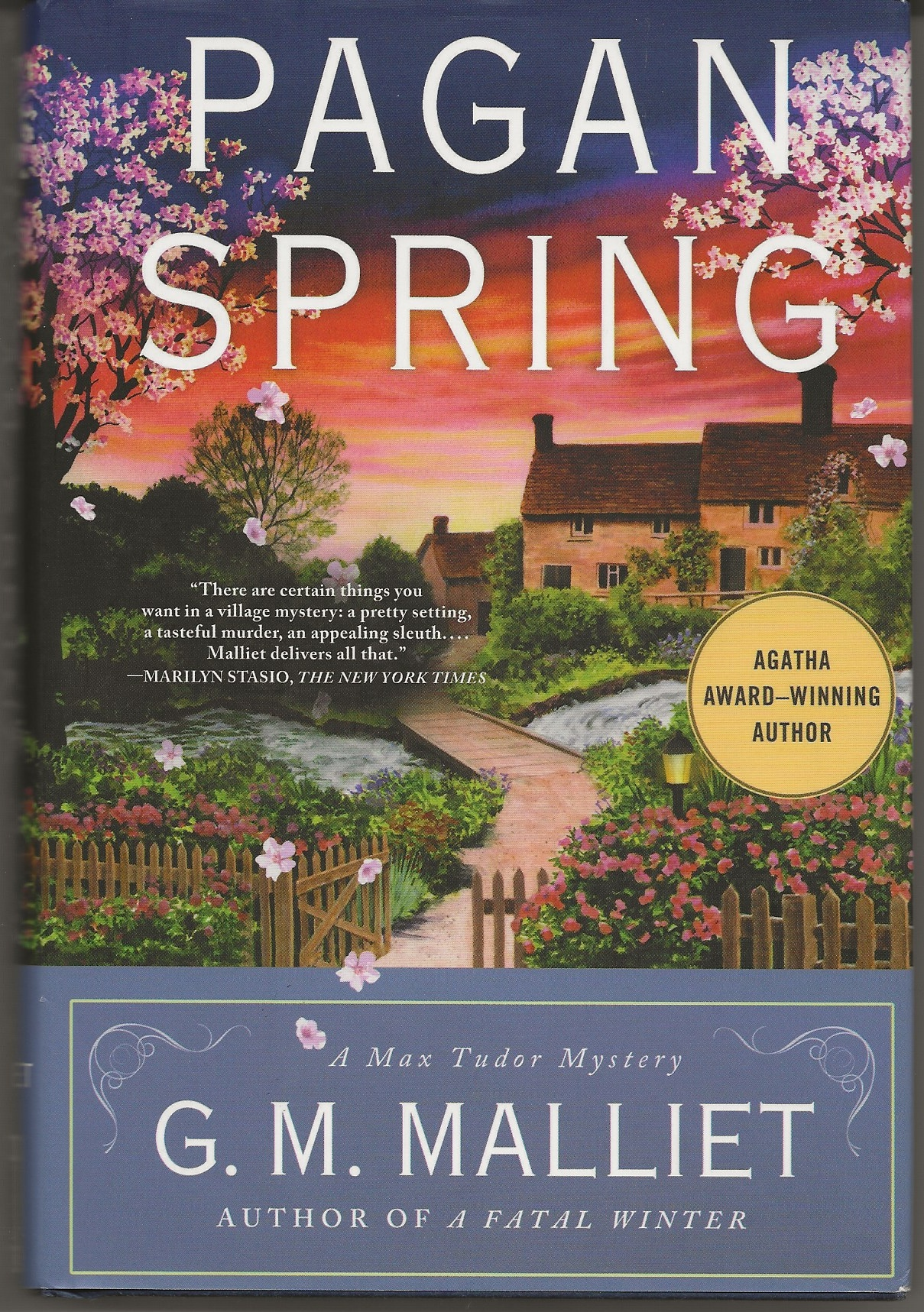 Image for PAGAN SPRING A Max Tudor Mystery